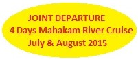 joint departure, group tour, group departure, joint tour, mahakam river cruise, mahakam river, mahakam, kalimantan, borneo, dayak culture