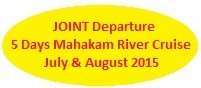 joint departure, joint tour, group tour, group departure, mahakam, makaham river, mahakam river cruise, borneo, kalimantan, dayak, culture, wildlife, tour, trip, journey, cruise, jungle, forest