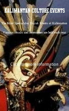 The Most Spectacular Dayak Events at Kalimantan. Various rituals and ceremonies are held each year, from Erau, Tiwah to more local harvest and rain dances as expressions of gratitude, designed to mark important moments or cultural Dayak traditions of many years